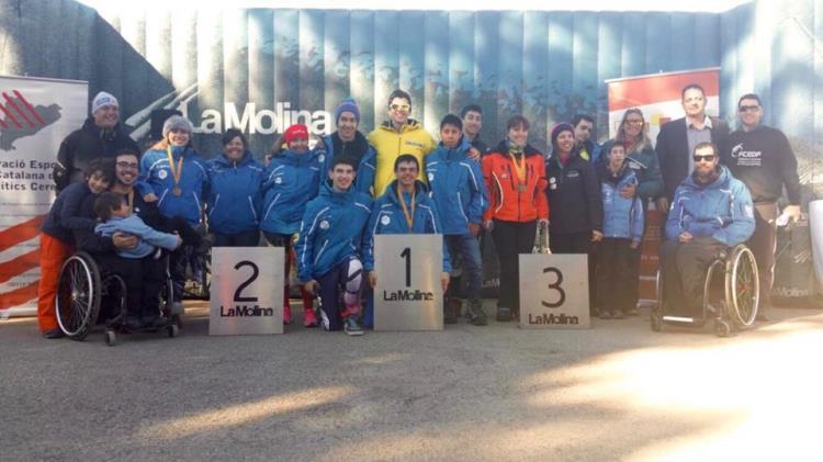 Proclamats els podis del Campionat de Catalunya Discapacitats a La Molina